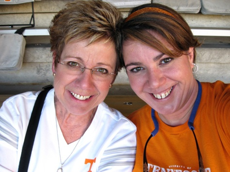 me & mom vols game